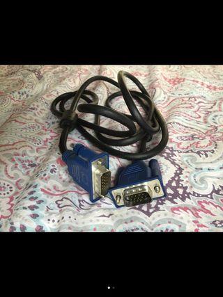 Cable imagen para ordenador VGA