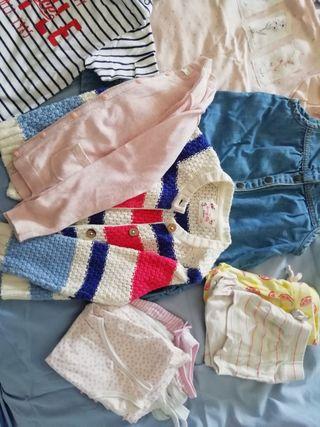 lote ropa niña 3 años verano