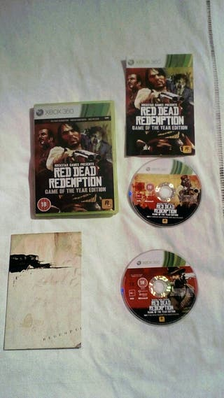 Juegos Xbox 360/ One Red dead Redemptio. Goty