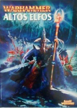 """Codex de Warhammer de """"Altos Elfos"""" 6ªEdición 2002"""
