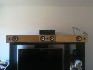 Amplificador + altavoces HI-FI
