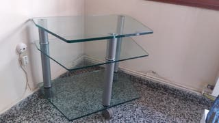 Mesa para TV/DVD/ video consola