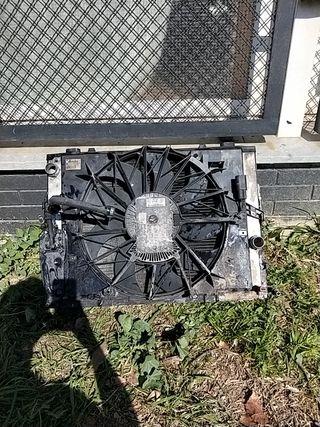 refrigeración ventiladores bmw 545