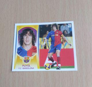 Puyol cromo/card.