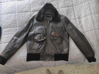 chaqueta de piel fórmula joven