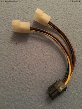 Cable alimentación para tarjetas gráficas