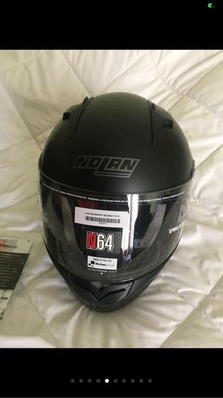 Casco moto Nolan N64 smart black matt