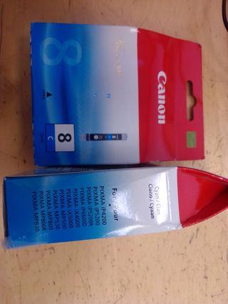 Canon cartucho CLI - 8C CYAN 13ml