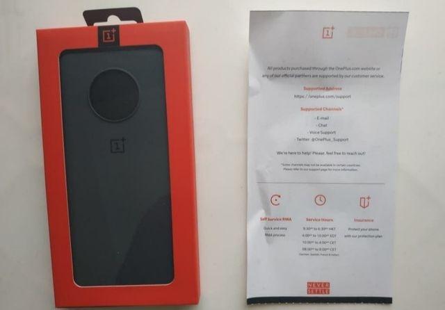 Funda OnePlus 7T Sandstone