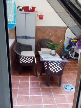 conjunto jardín o patio