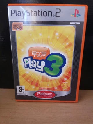 Eye Toy Play 3 Para Playstation 2