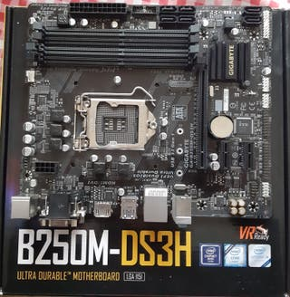 placa base averiada no saca video b250m-ds3h