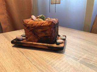 Pequeño centro de mesa hechos a mano