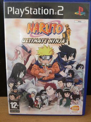 Naruto Ultimate Ninja Para Playstation 2