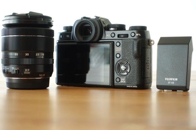 Cámara Fujifilm XT-1 + objetivo Fuji 18-55 f2.8