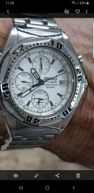 reloj seiko vintage 7T32