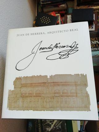 Libro de arquitectura Juan de Herrera.