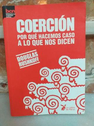 Coerción, de Douglas Rushkoff