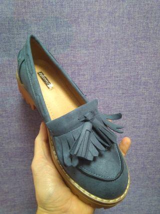 Zapato Kiowa Azul (número 38)