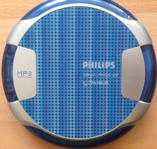 Reproductor CD / MP3 Portátil DISCMAN