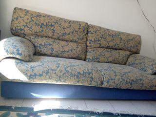 sofá de tres placas