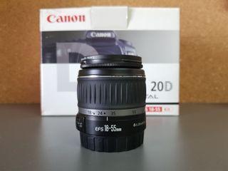 Canon objetivo zoom 18-55 F/3.5-5.6