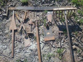 Antiguos utensilios campo