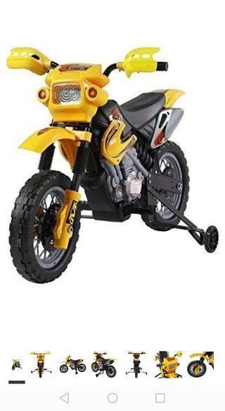 motocicleta niño eléctrica
