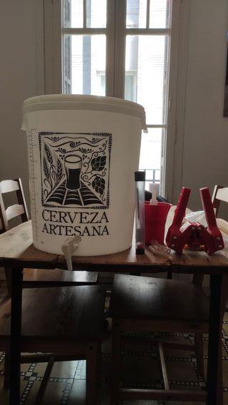 Kit elaboración Cerveza Artesanal
