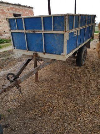 Remolque 3.500 kg basculante