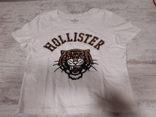 Camiseta Hollister chica talla XS