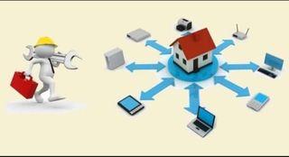 instalador de red y fibra óptica
