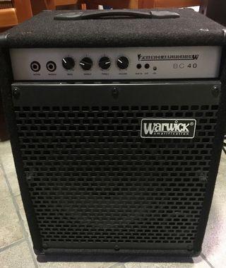 Amplificador de bajo WARWICK BC 40