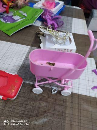bañera de bebé para Barbie