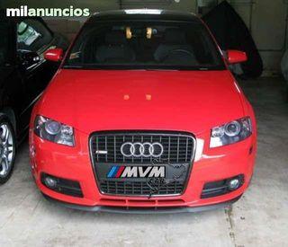 Añadido spoiler para Paragolpes Audi A3