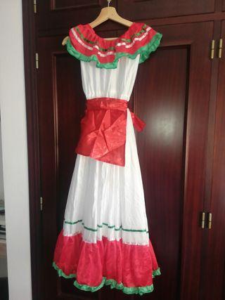 vestido mexicana