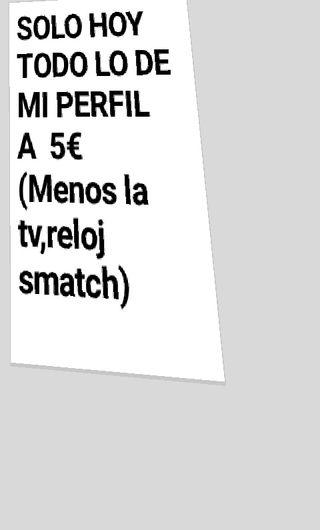MI PERFIL HOy A 5€!!