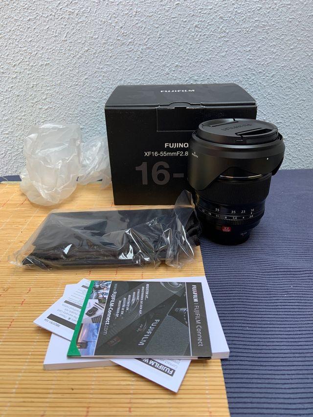 Objetivo Fuji 16-55 mm 2.8 R LM WR Garantia