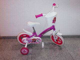 bicicleta niña skye