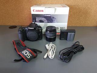 Cámara Reflex Canon EOS 20D