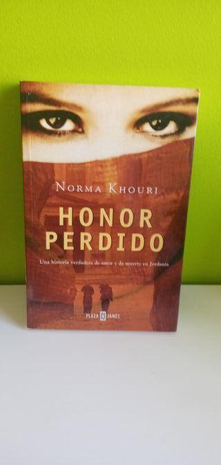 Libro Honor Perdido