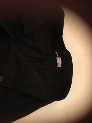 Pantalón Valentino negro mujer vestir