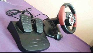 volante y pedales
