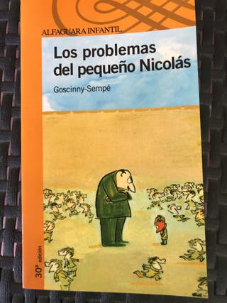 """Libro infantil """"los problemas del pequeño Nicolas"""""""
