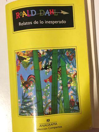 Libro de Roald Dahl Relatos de lo inesperado