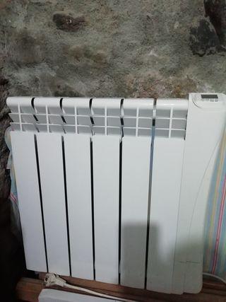 radiador eléctrico sin uso.