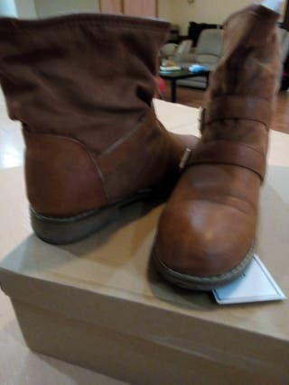 botas piel