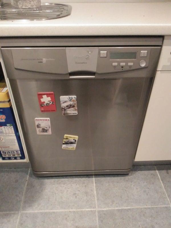 Frigorífico, lavadora y lavavajillas