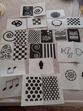 Montessori tarjetas