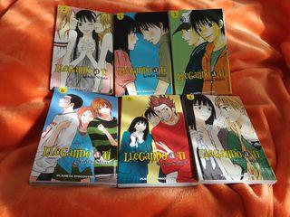 manga - Llegando a ti tomos 1-6, Karuho Shiina